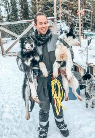 Dog Sledding Sweden