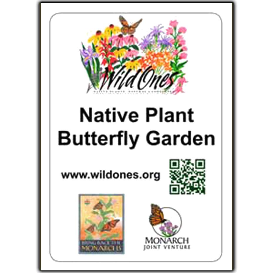 Butterfly Garden Recognition Sign