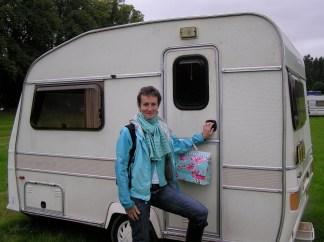 Me and my tiny caravan Bunty