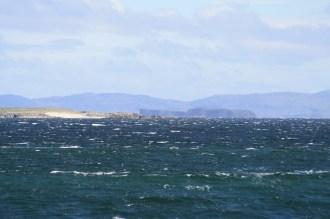 Storm island, Staffa beyond