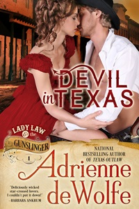 Lady Law & The Gunslinger, historical western romance, Texas, Galveston, cowboys, Texas Rangers