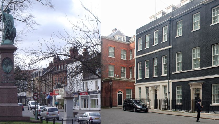 Esher and Downing Street