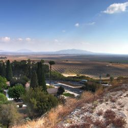 The Valley of Jezreel from Megiddo