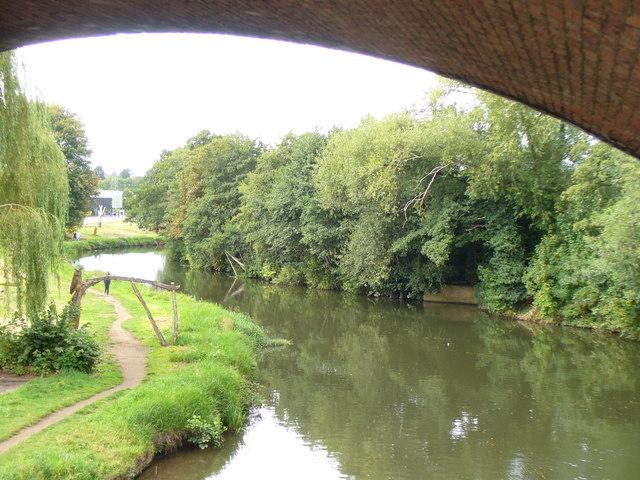River Wey at Woodbridge Meadow
