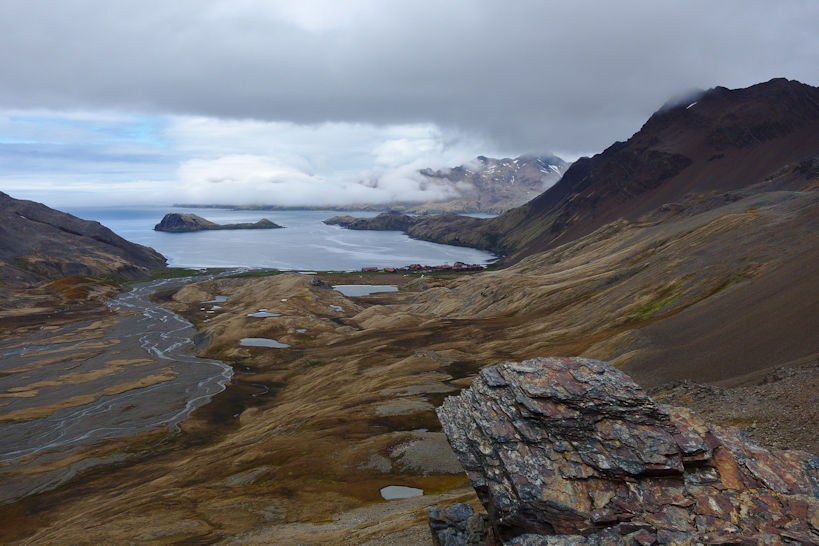 View down the Shackleton Valley