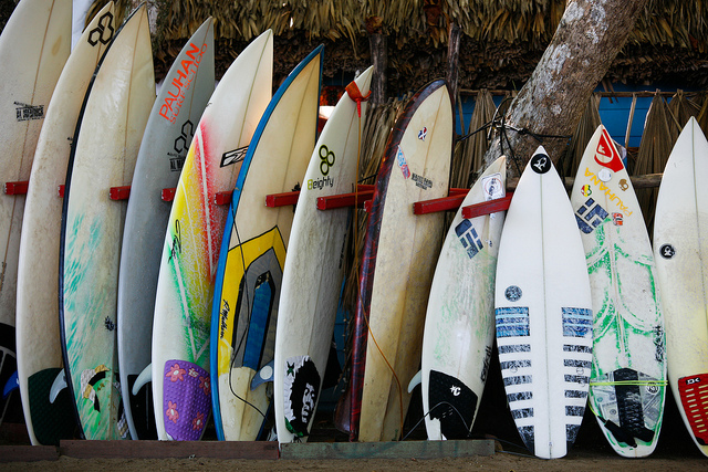 Tips for buying a second hand surfboard