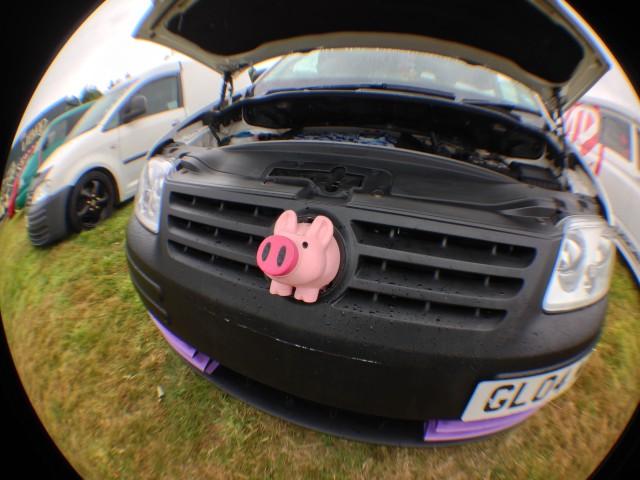 vw jamboree stithians 2014 pig caddy