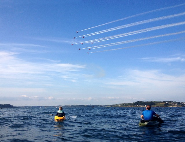 Falmouth Week – Red Arrows Kayak Trip