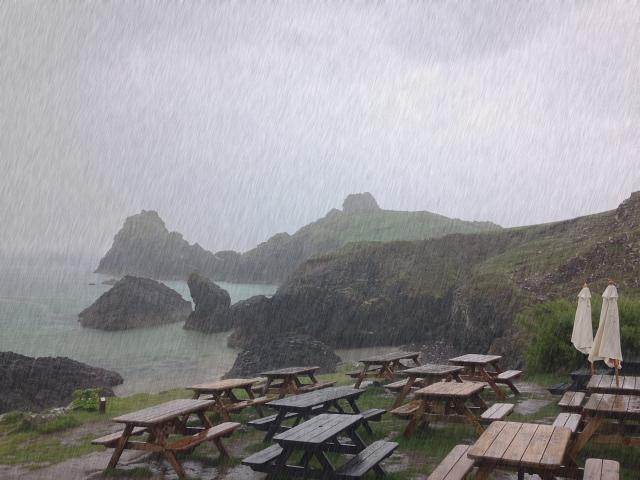 Kynance Rain Cove