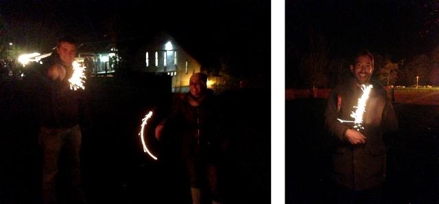 Sparklers Firework Night