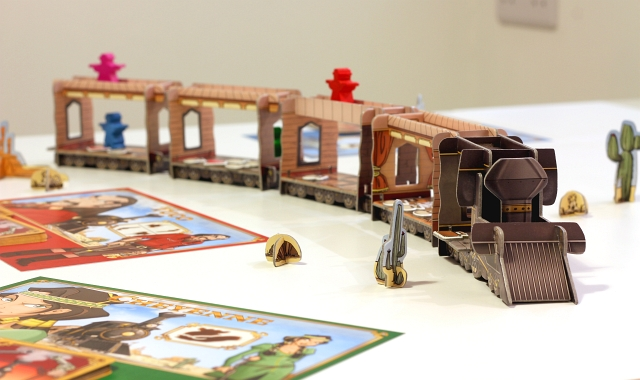 Colt Express Train Cards