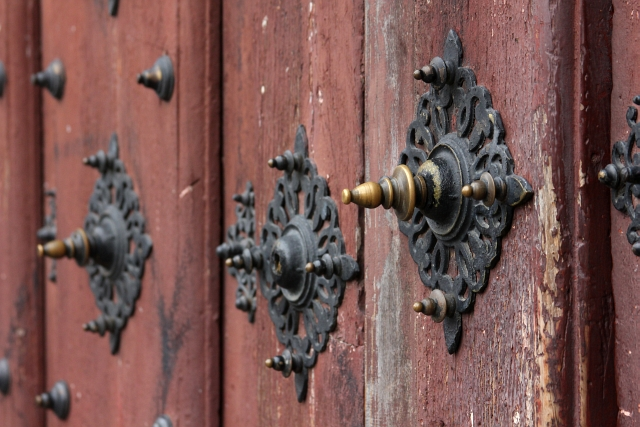Cathedral Salamanca View Door