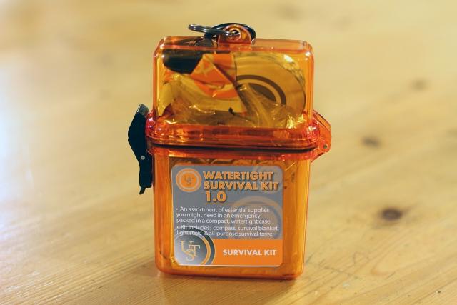 Watertight Survival Kit