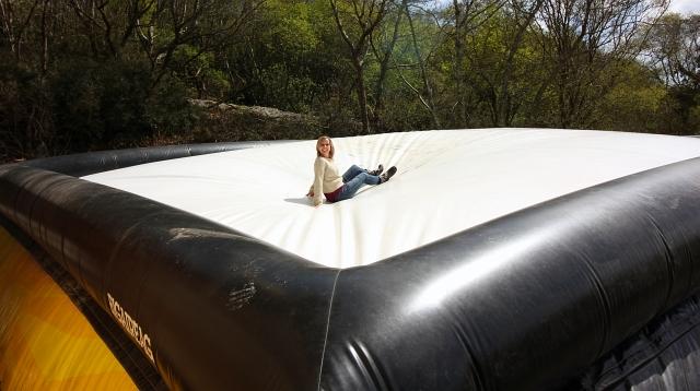 Big Air Jump Eden Project