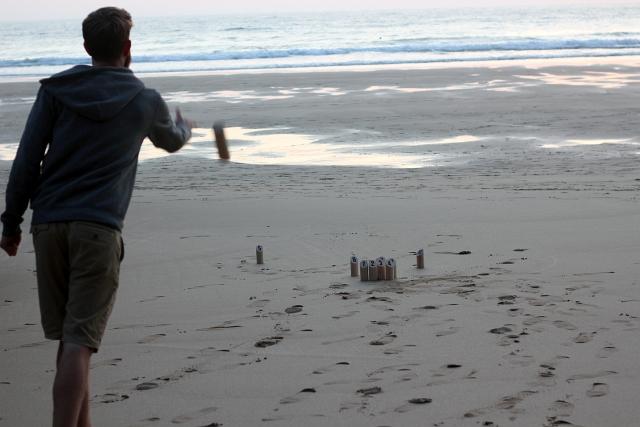 Smite Game on Beach