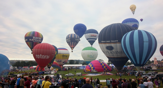 Bristol Balloon Fiesta Hot Air