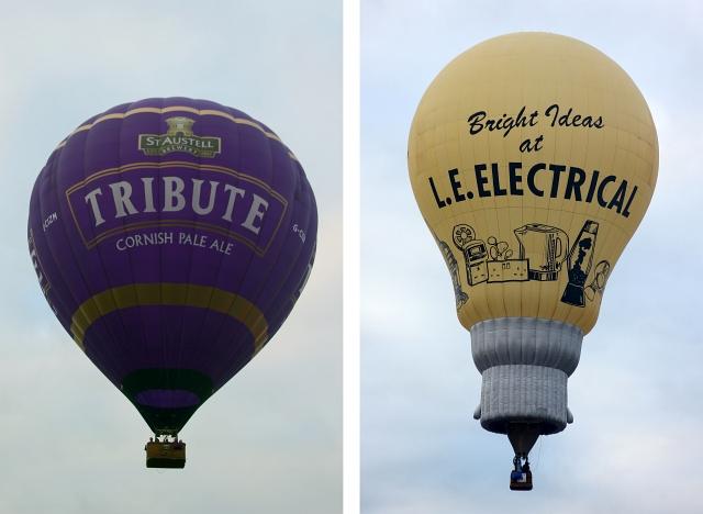 Tribute Hot Air Balloon