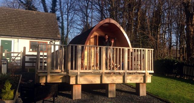 Pod Camping Keswick Decking