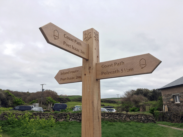 Walking the Coast Path of Cornwall – Day Three: Port Issac – Trevone Beach