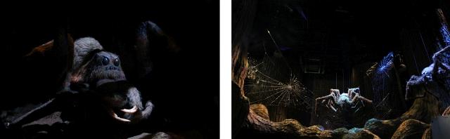 Spider Forbidden Forest Harry Potter World