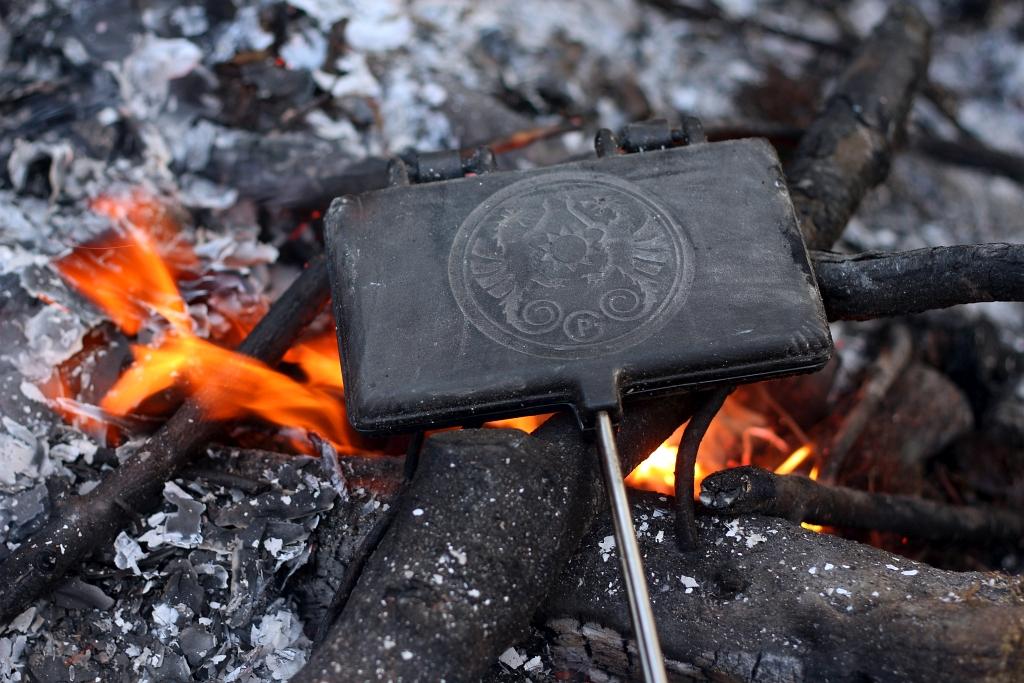 Petromax Campfire Waffle Iron