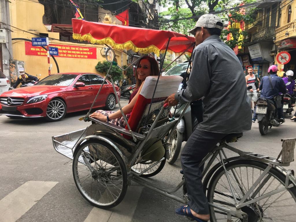 Hanoi Street Tour Cyclo
