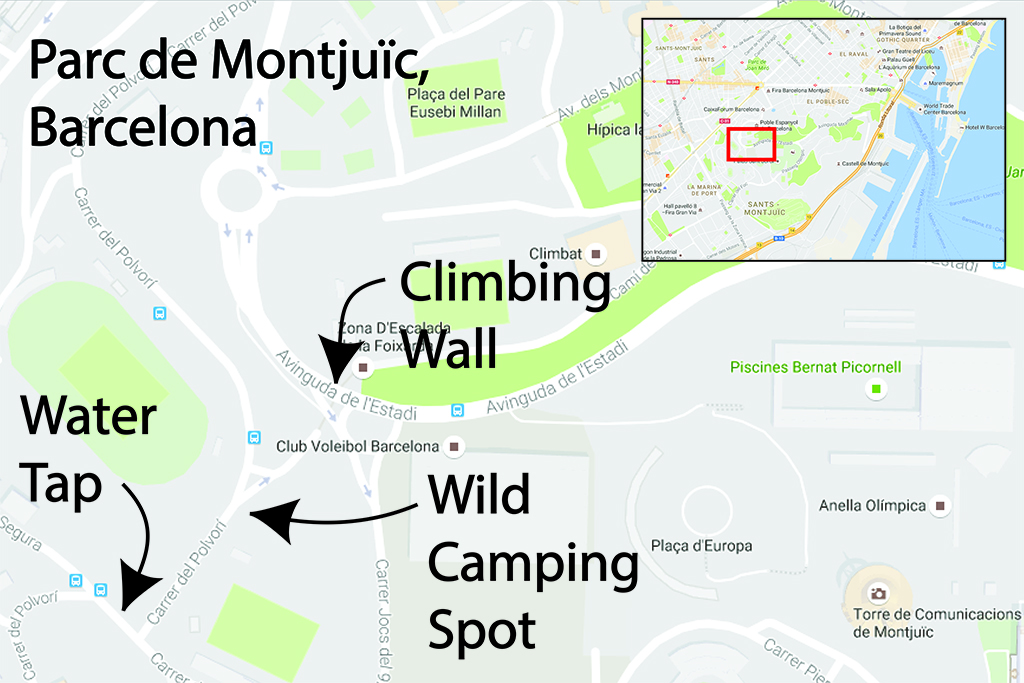 WildVan Wild Camping Barcelona