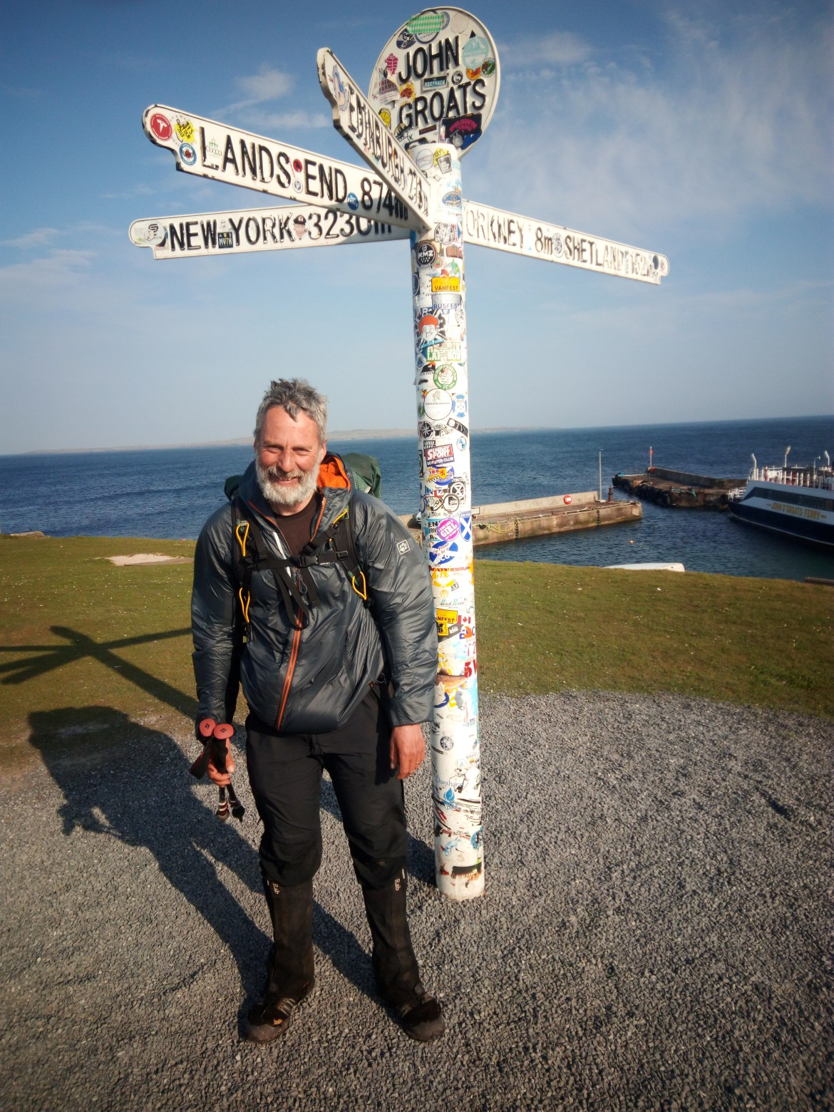 Land's End to John O'Groats, including the three peaks walk (short story)