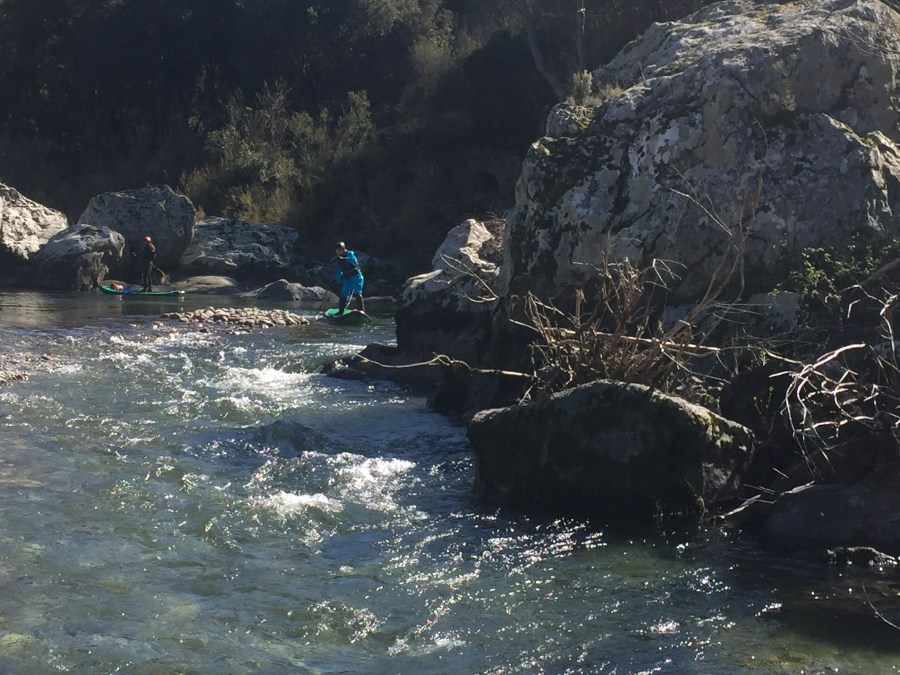 Wildwasser SUP Korsika