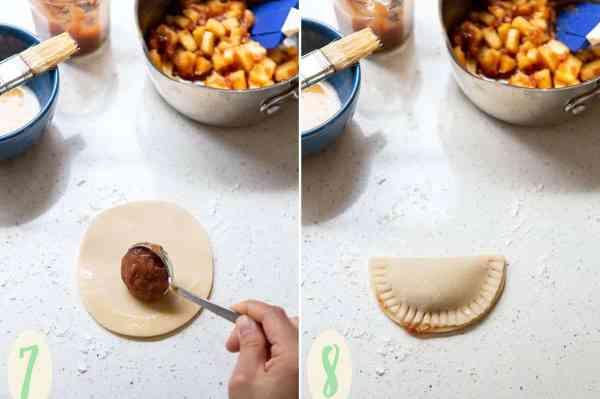 Apple Butter Empanadas | wildwildwhisk.com