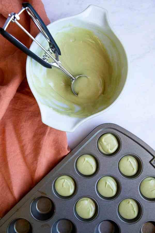 Green Tea Coconut Mochi | wildwildwhisk.com