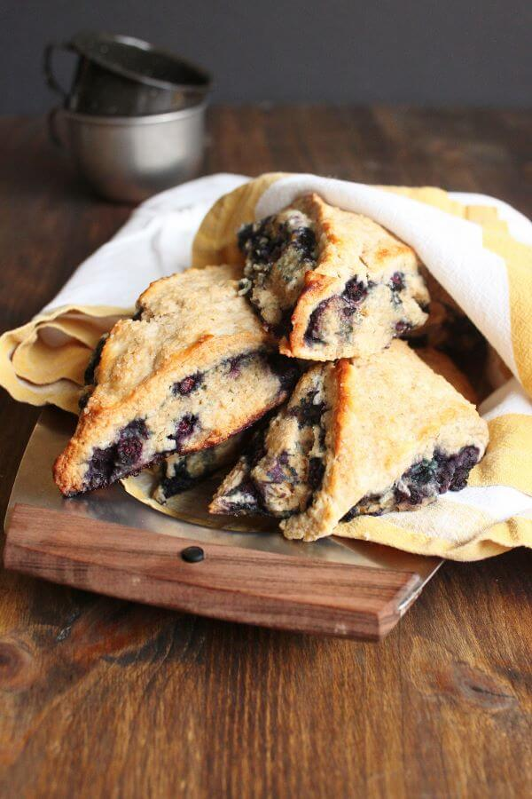 Blueberry Scones | wildwildwhisk.com