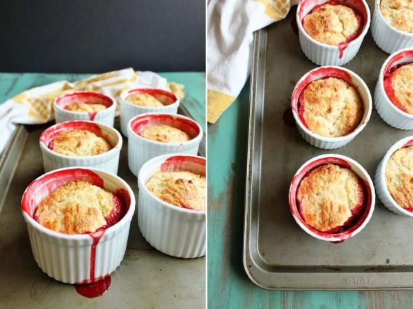 Strawberry Shortcake Cobbler | wildwildwhisk.com