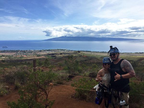 Maui-Ziplining