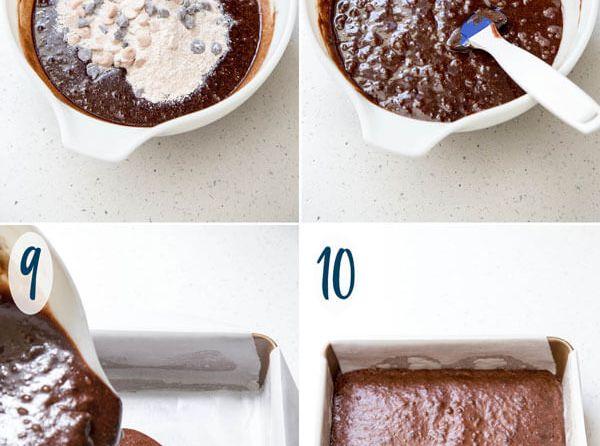 Double Peanut Butter Brownies | wildwildwhisk.com