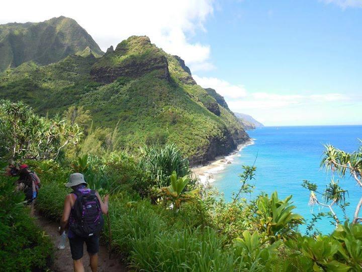 day 2 - hiking kauai