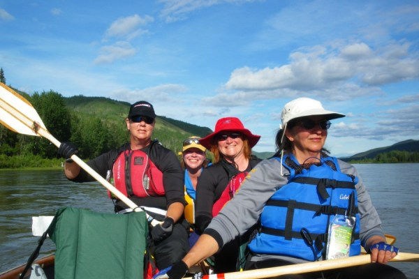 Photo of The Yukon River Quest.