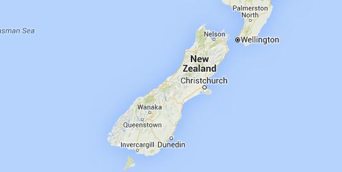 South Island Alpine Adventure map