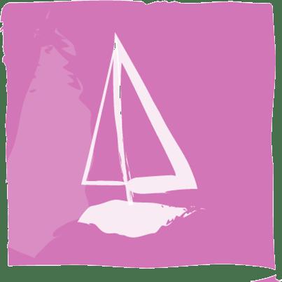 Sailing icon.