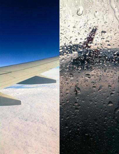Left: Edinburgh. Right: Copenhagen.