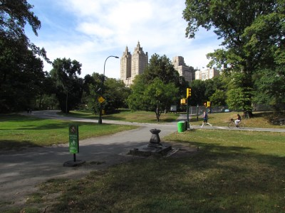The famous Central Park, where people find calm respite from all the hustle and bustle.