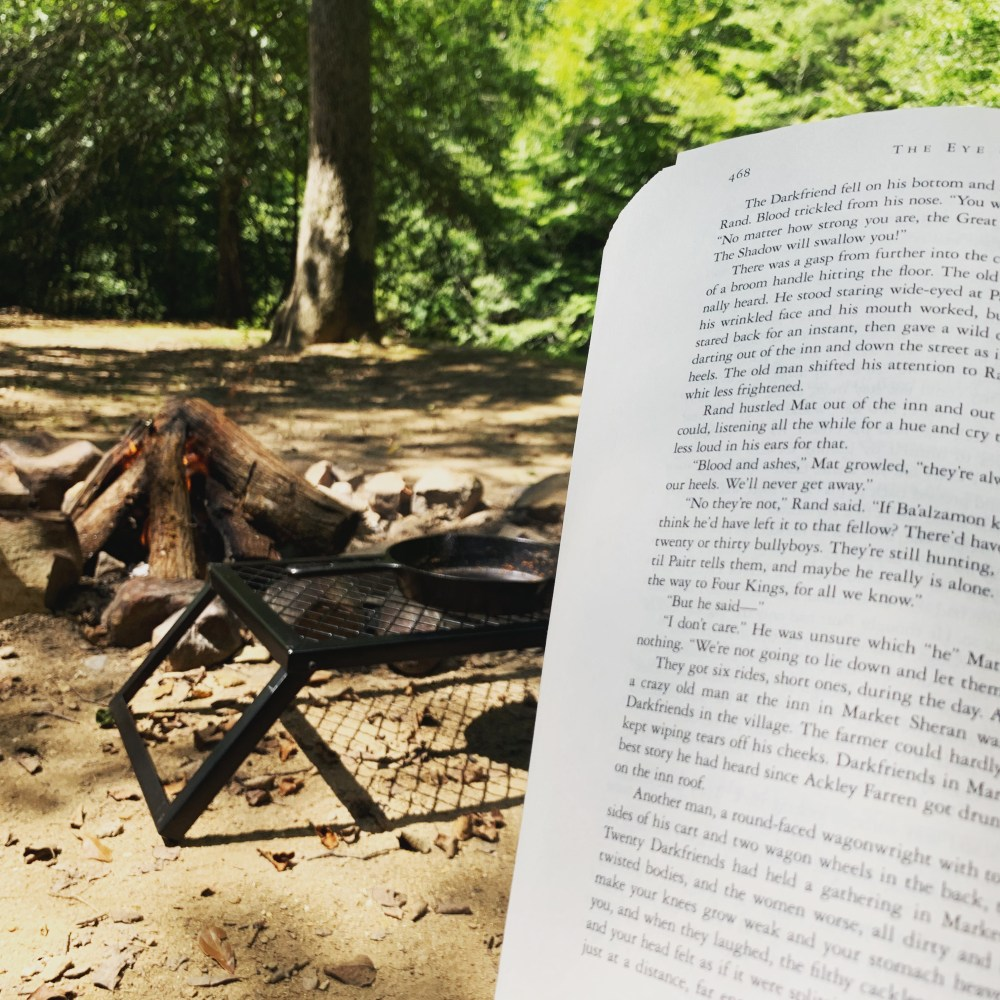 The Campfire Book Tag