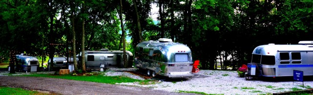 Airstream Camping Village at Wildwood Resort and Marina