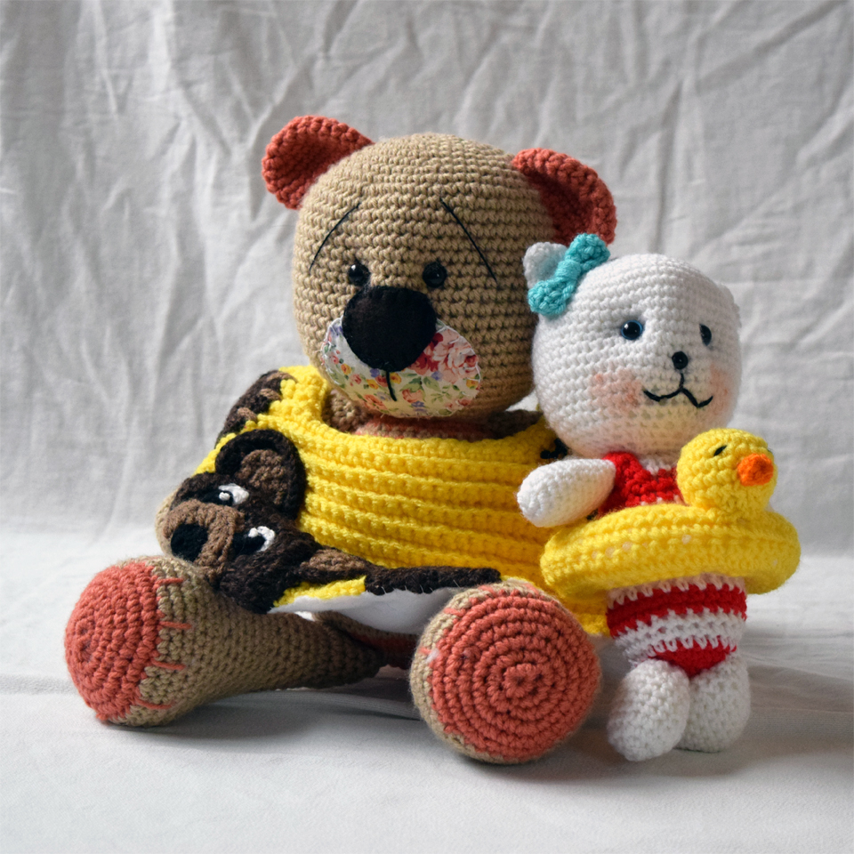 Crocheted Bear Collection