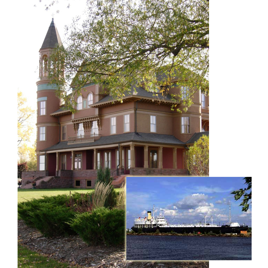 Fairlawn Mansion - SS Meteor - Superior Public Museums