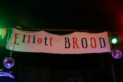 The Elliott Brood Banner at Mavericks