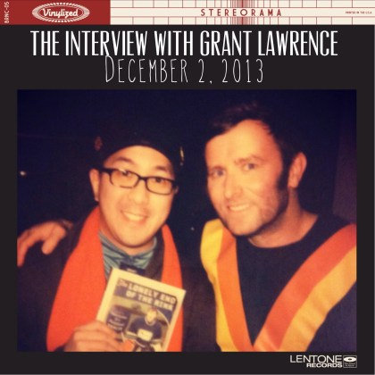 With Grant Lawrence Polaroid Vinyl
