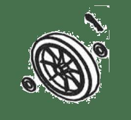 Alemite 393808-3 Wheel Kit