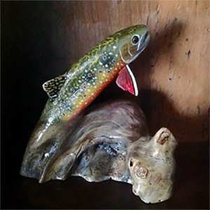 Stylized Brook Trout