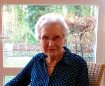 Aunt Suzy, at 98!